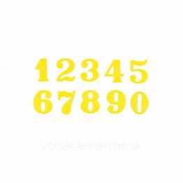 Číslo na úl samostatné T1