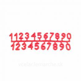 Čísla na úl set T1