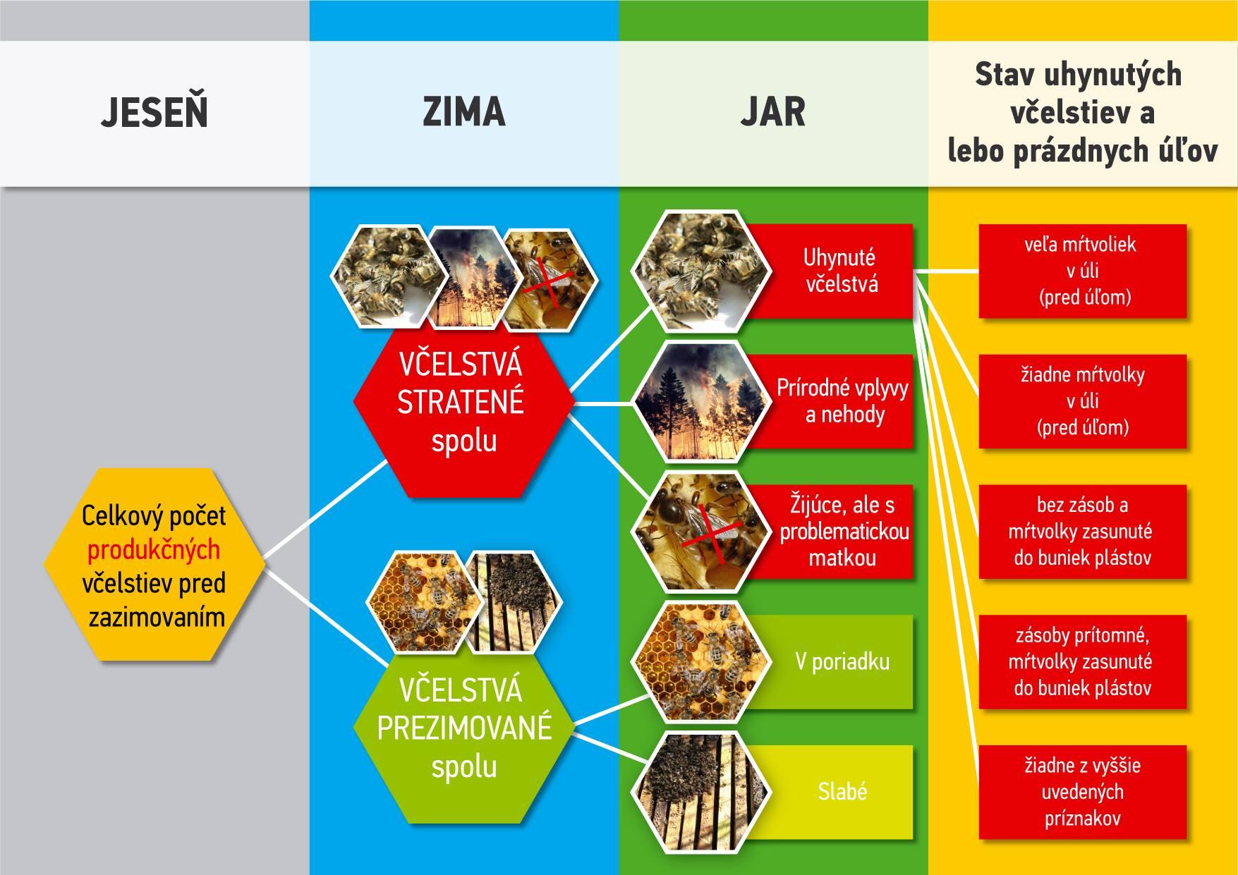 COLOSS Monitoring prezimovania včelstiev 2019