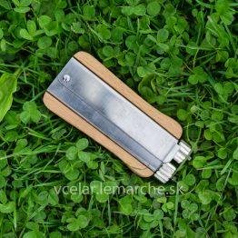 Napínač drôtika drevo antikor
